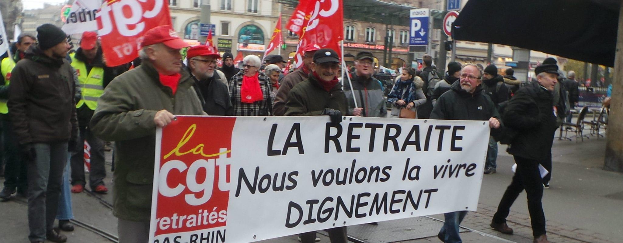 11e manifestation contre la réforme des retraites jeudi