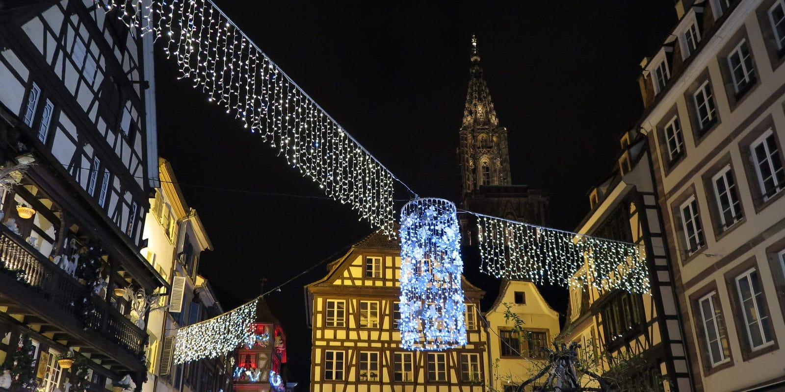Strasbourg va continuer de subventionner la moitié des Illuminations de Noël