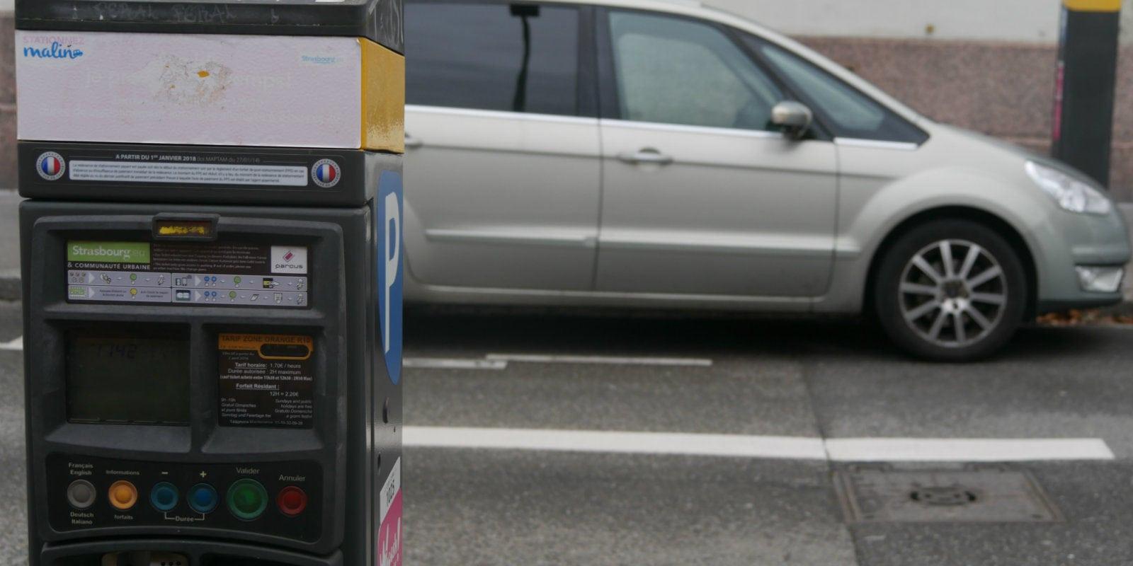 8,5 millions de moins que prévu pour les amendes de stationnement