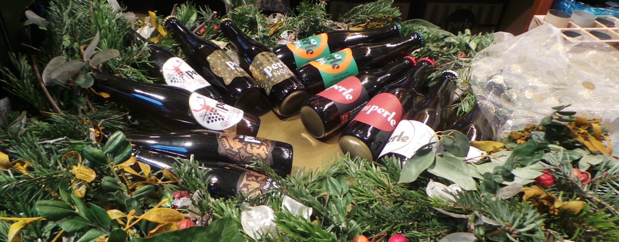 Une bière de Noël, s'il vous plaît. – Oui mais laquelle?