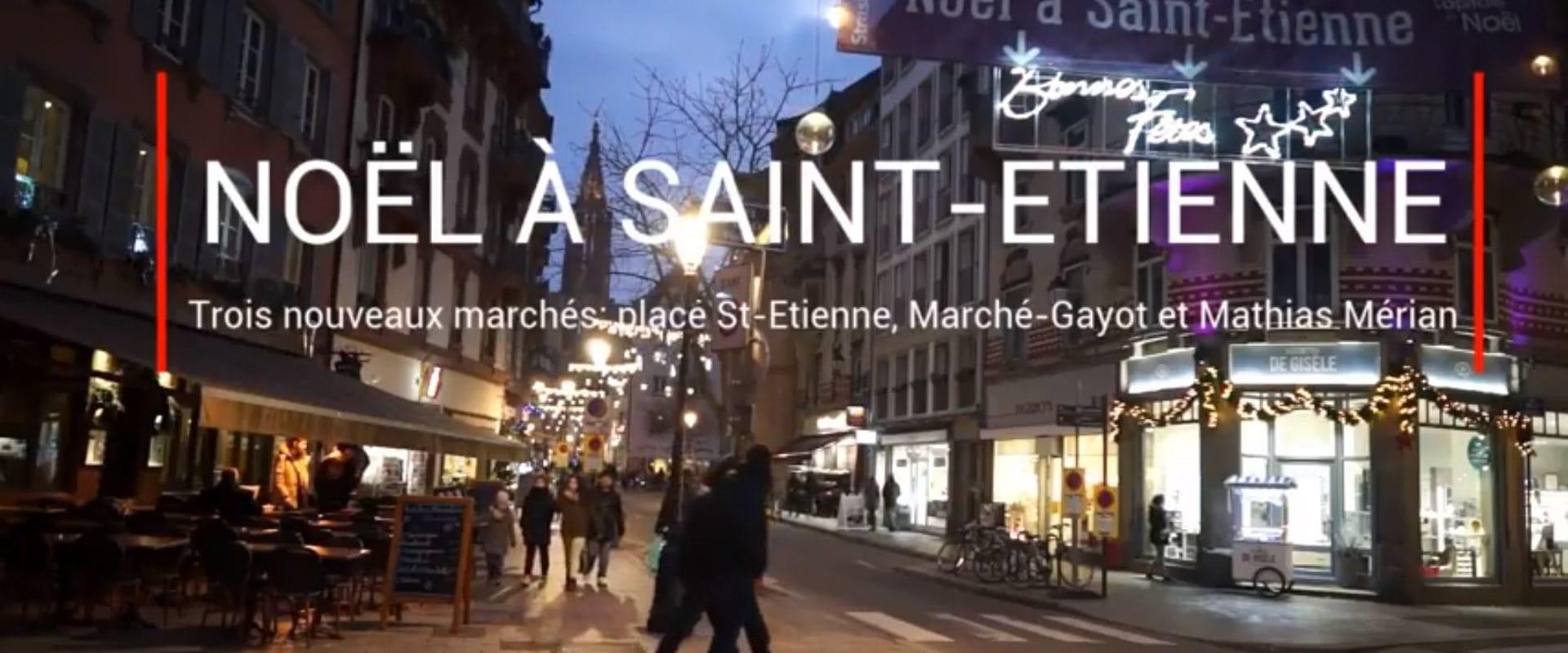Derrière la cathédrale de Strasbourg, des petits marchés de Noël plus amusants