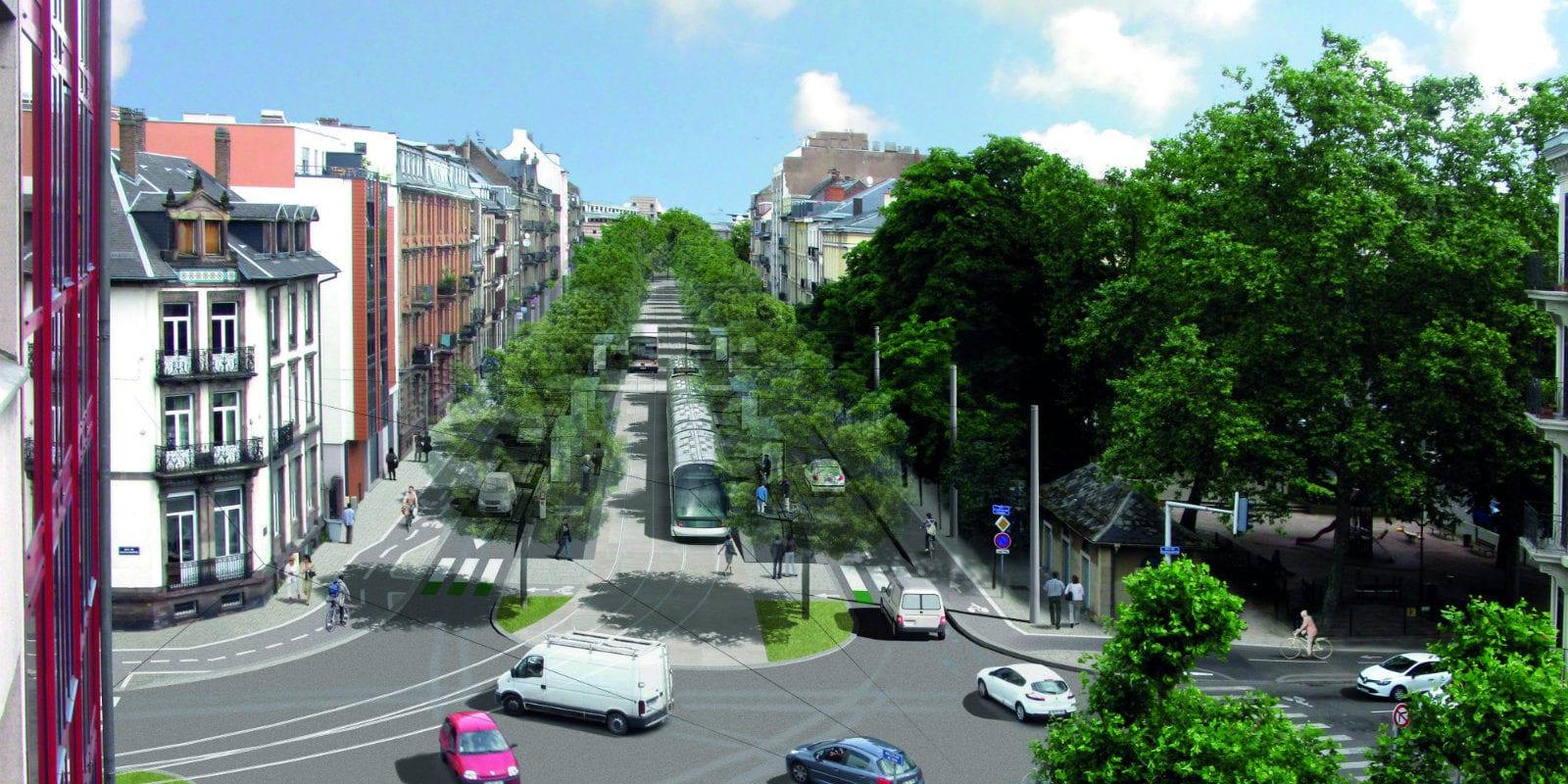Les contours du tram F vers Koenigshoffen se dévoilent
