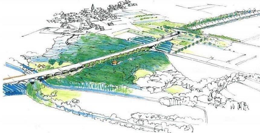 GCO : recours en référé contre le nouveau permis d'aménager du viaduc de Kolbsheim
