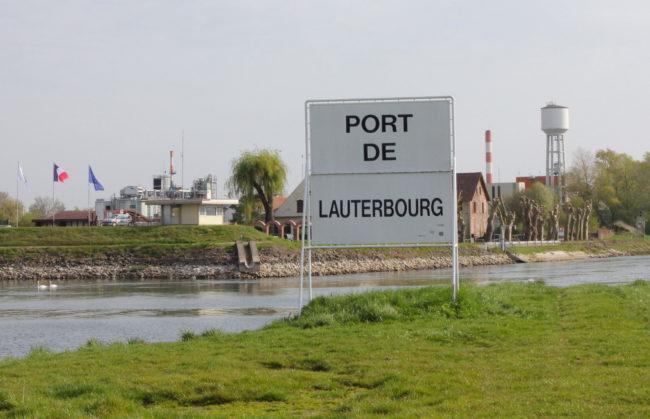 Beaucoup d'eau risque encore de couler avant que le terminal à conteneurs de Lauterbourg n'entre effectivement en service. (Nathalie Stey)