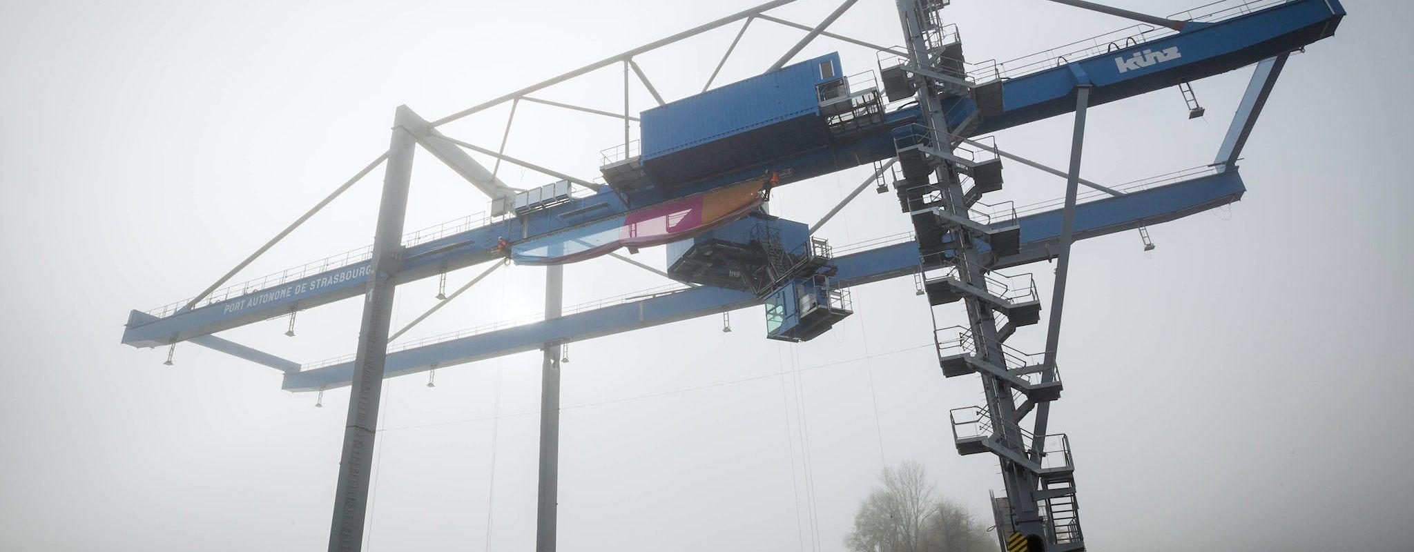 Un tout nouveau terminal portuaire à Lauterbourg, mais pour quoi faire?