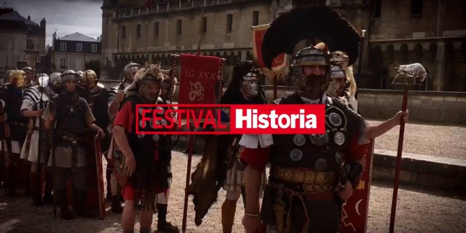 Le festival Historia, trois jours pour vivre une Histoire en fête