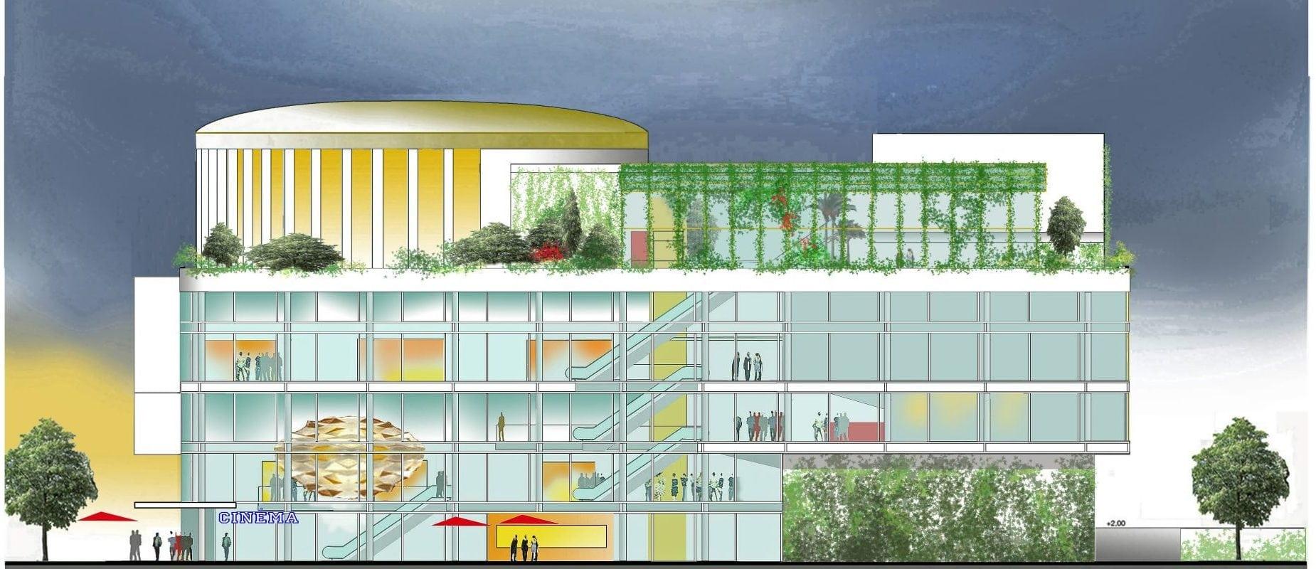 Cinéma, bar et espace loisirs… Le futur complexe Vox derrière les Halles se précise