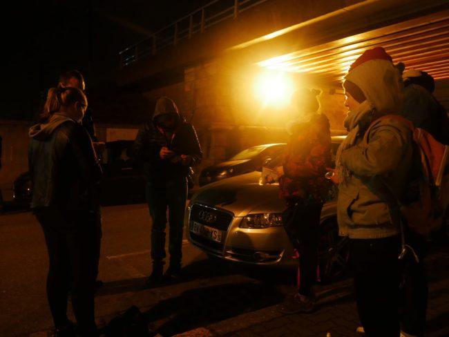 ... avant d'être stoppées net par la police (Photo GK/ Rue 89 Strasbourg/ cc)