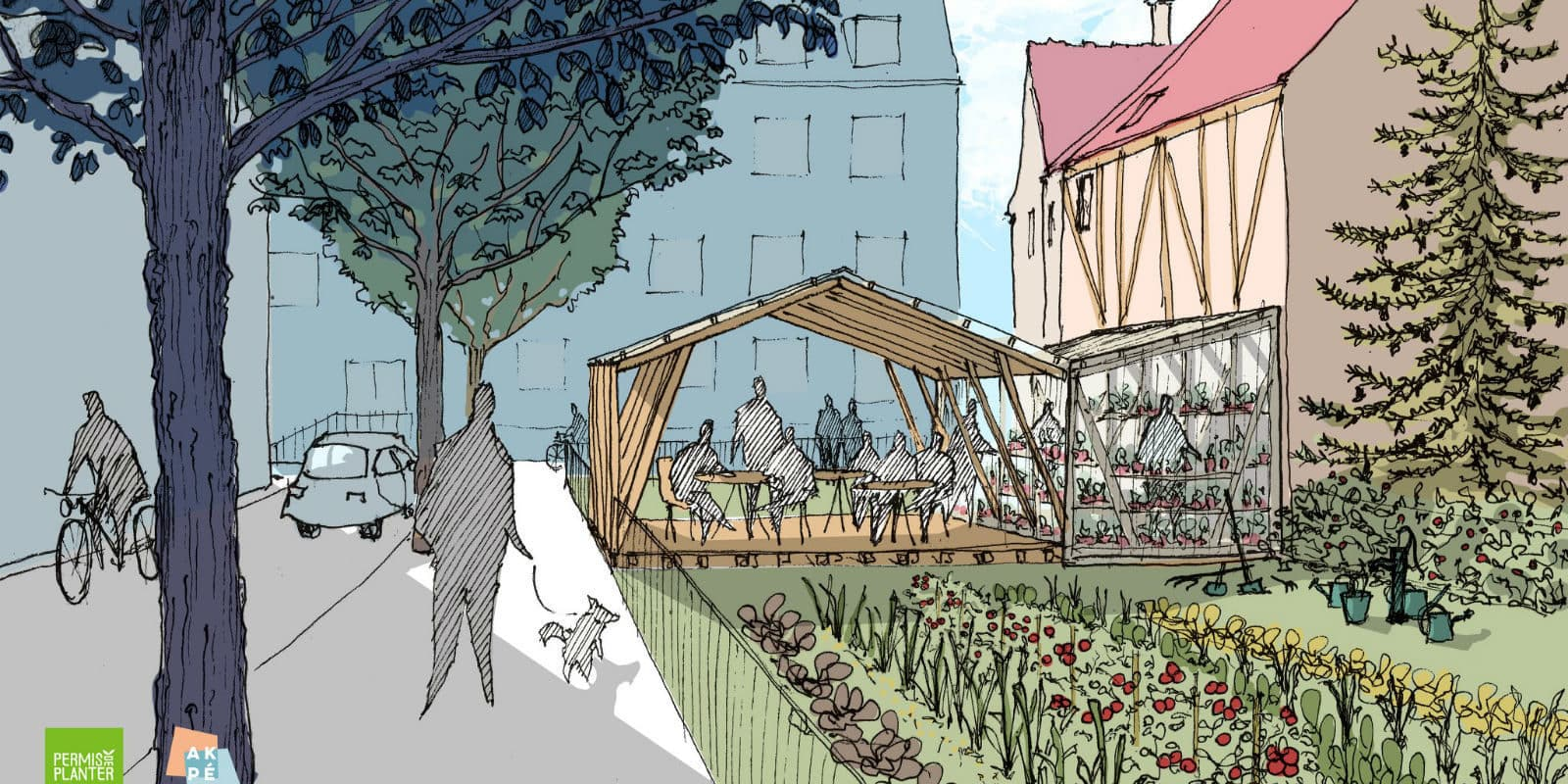 «L'Arrosoir», un jardin partagé et convivial à Strasbourg cherche son financement