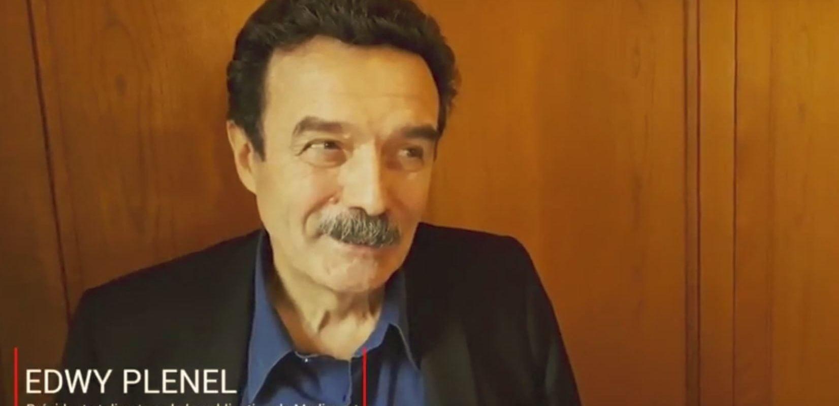 Edwy Plenel : «Mediapart n'a pas vocation à devenir un empire»