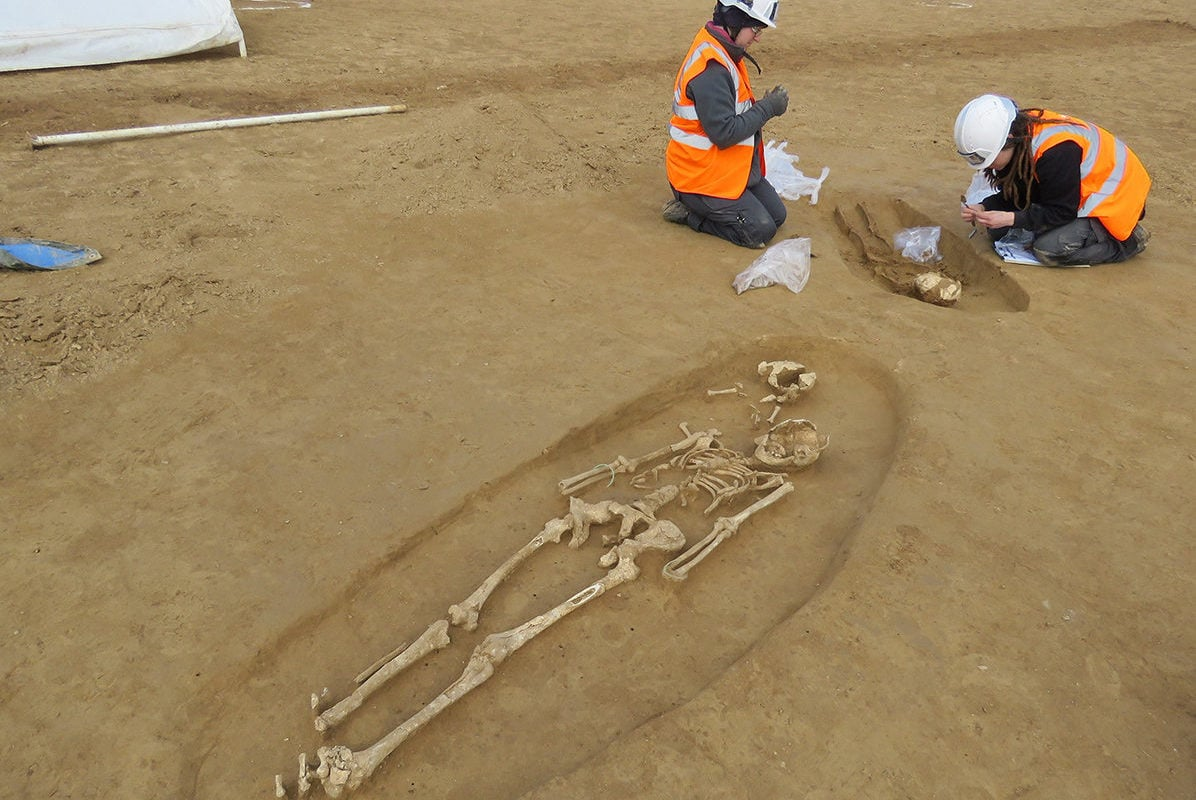 Une nécropole de l'âge du fer découverte sur le tracé du GCO