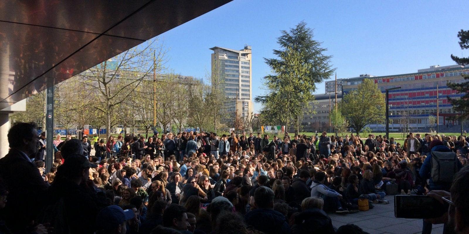 Le déblocage de l'Université voté en Assemblée générale étudiante
