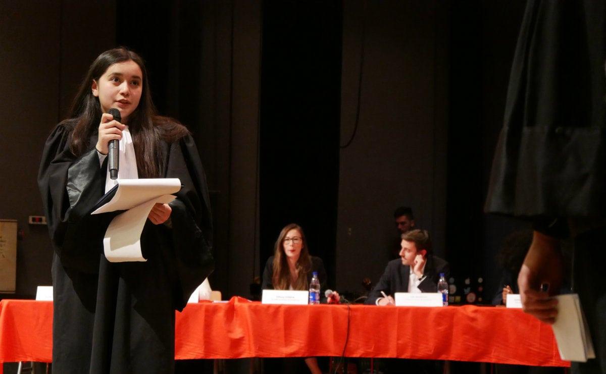 À la finale du concours d'éloquence: «Élise, c'est sûr, elle va percer»