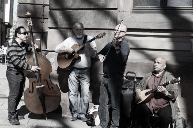 Collectif acoustic : « musiciens sans frontières et convergence des styles » (Photo ES / Rue89 Strasbourg / cc)