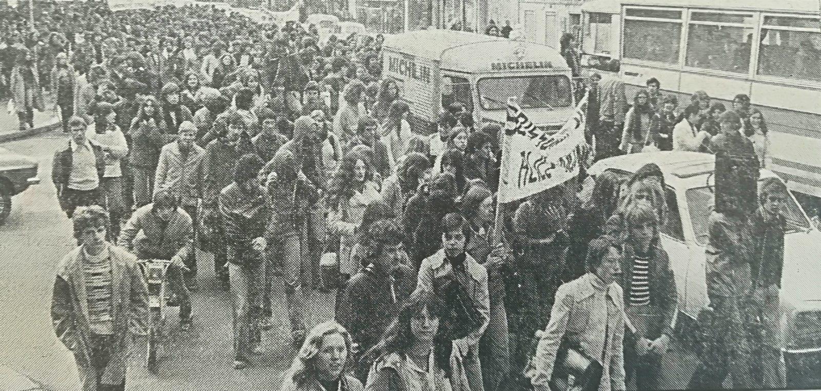 Plongée dans les archives des mouvements étudiants à Strasbourg