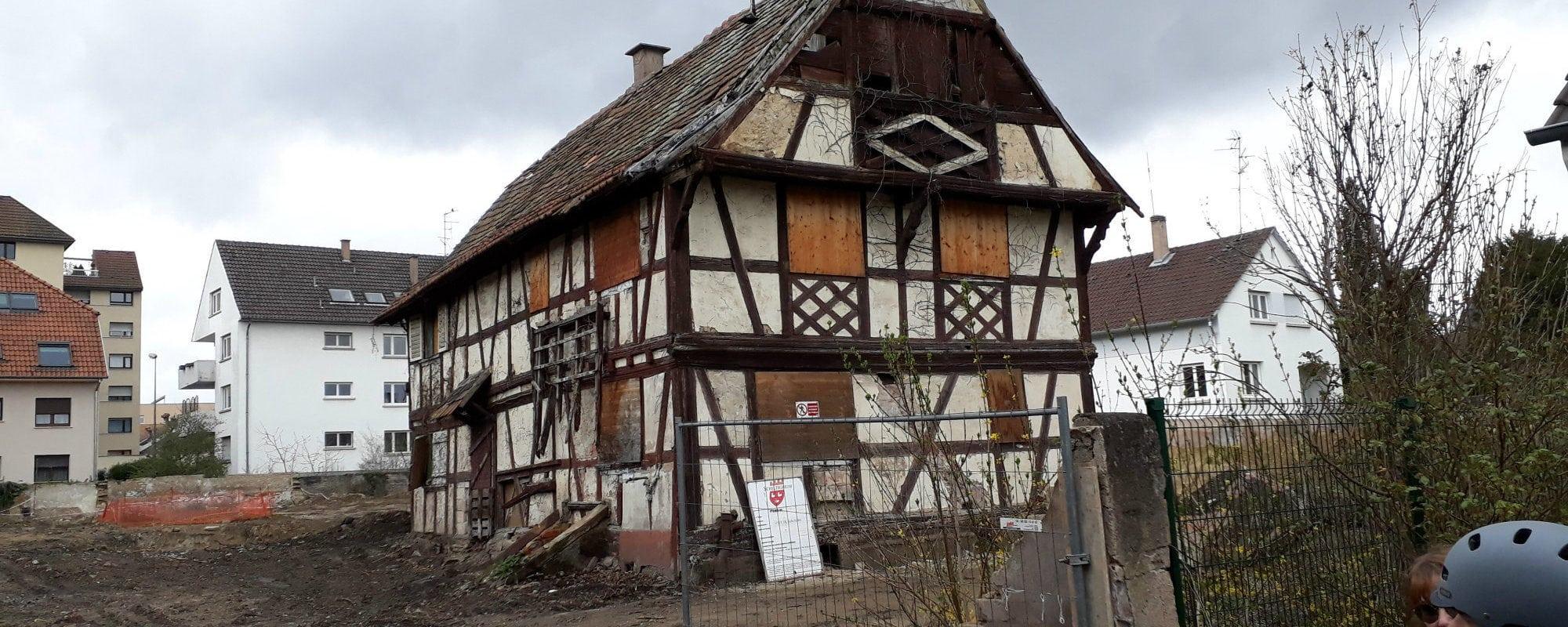 À Schiltigheim, une convergence de listes autour d'une maison alsacienne
