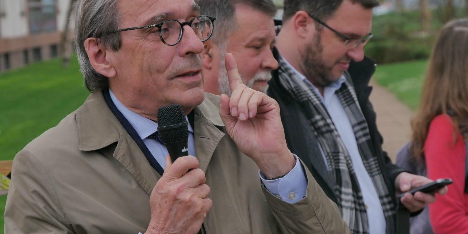Des festivités pour changer l'image de l'Elsau, son principal problème selon Roland Ries