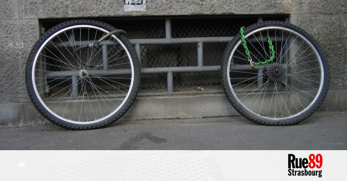 Vous Vous êtes Fait Voler Votre Vélo Strasbourg Voudrait