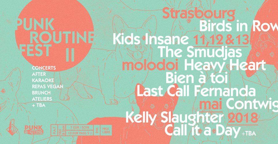 De vendredi à dimanche, c'est le Punkroutine Fest II au Molodoï