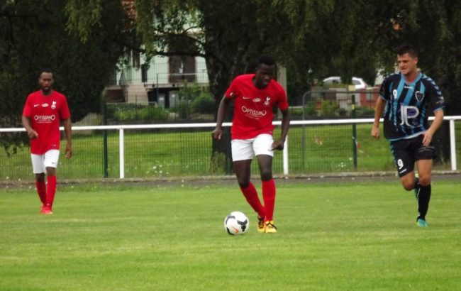 Quatre joueurs de l'AS Benfeld sont noirs (doc remis / Facebook)
