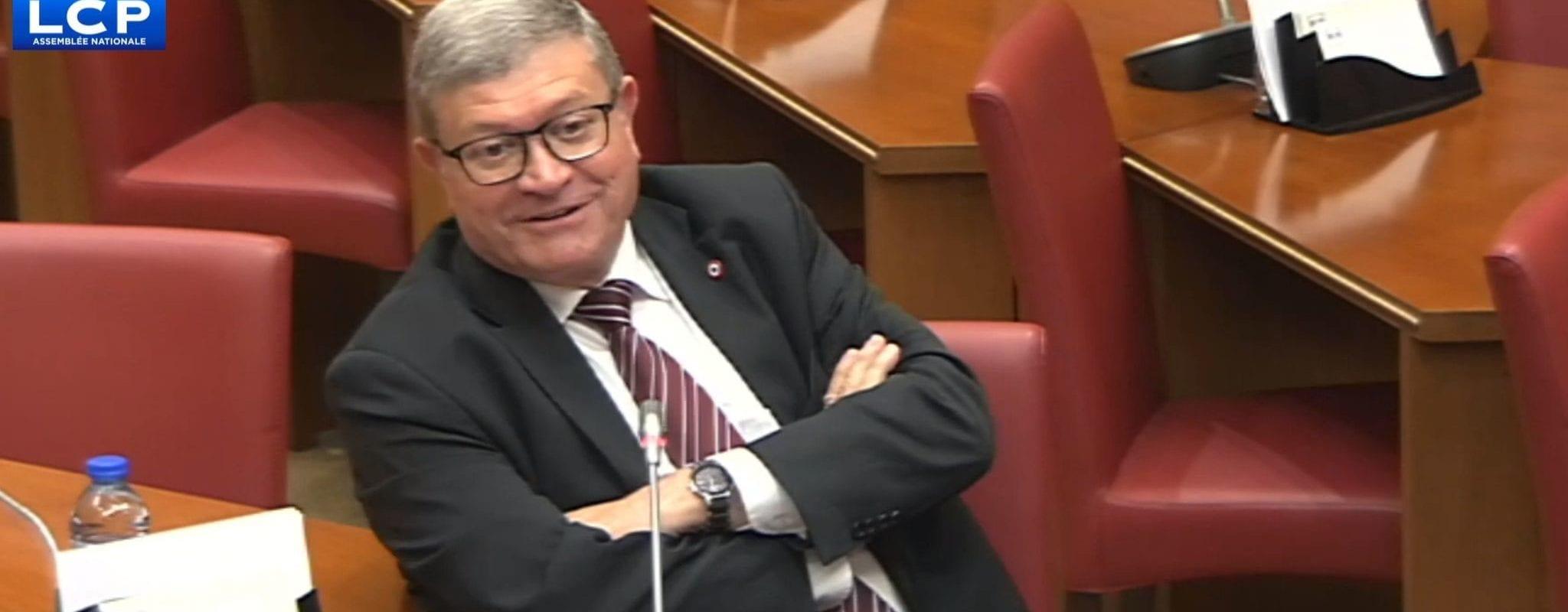Le député Jean-Luc Reitzer «en a ras la casquette» d'être contrôlé
