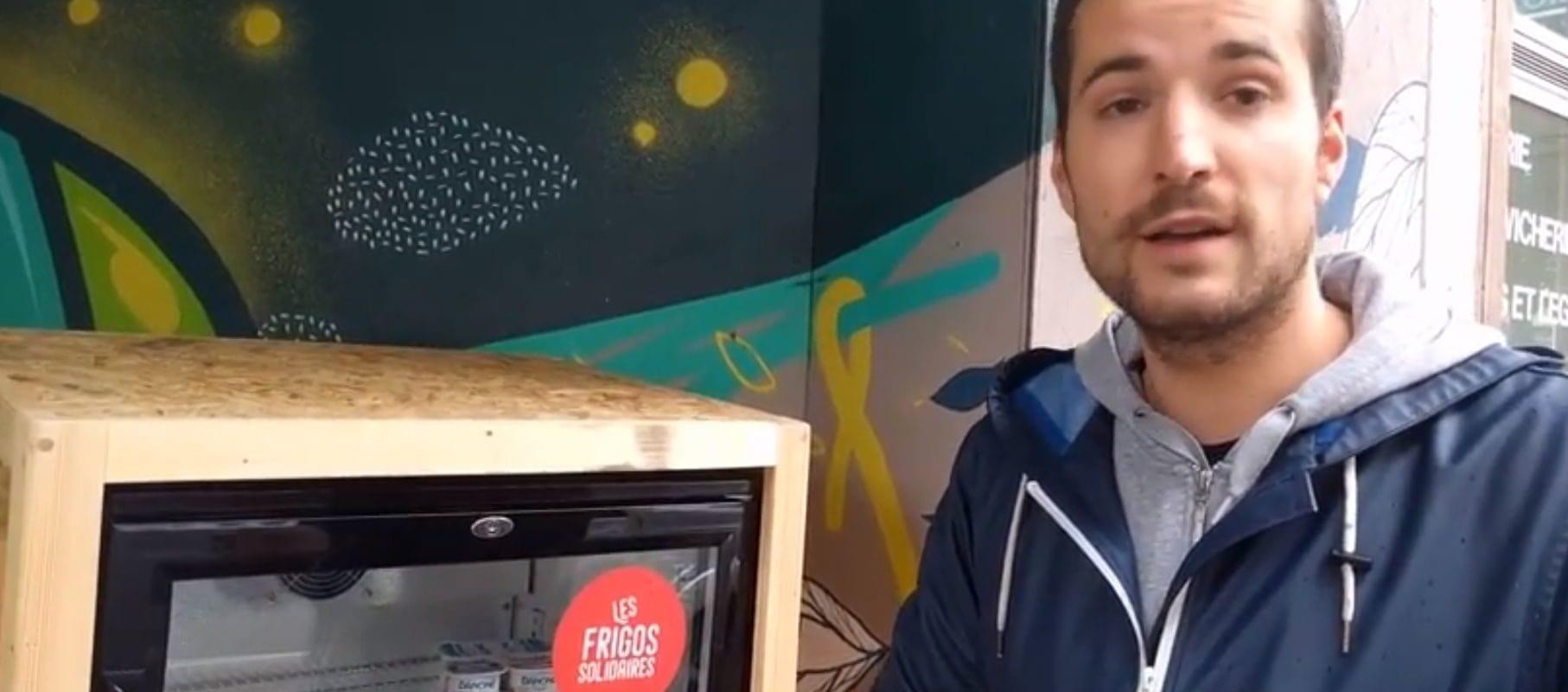 Un premier frigo solidaire installé près de la gare à Strasbourg