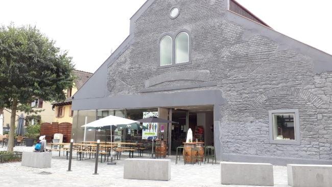 Les Halles du Scilt doivent réunir commerçants et exposition dans un même lieu (Photo SS / Rue89 Strasbourg / cc)