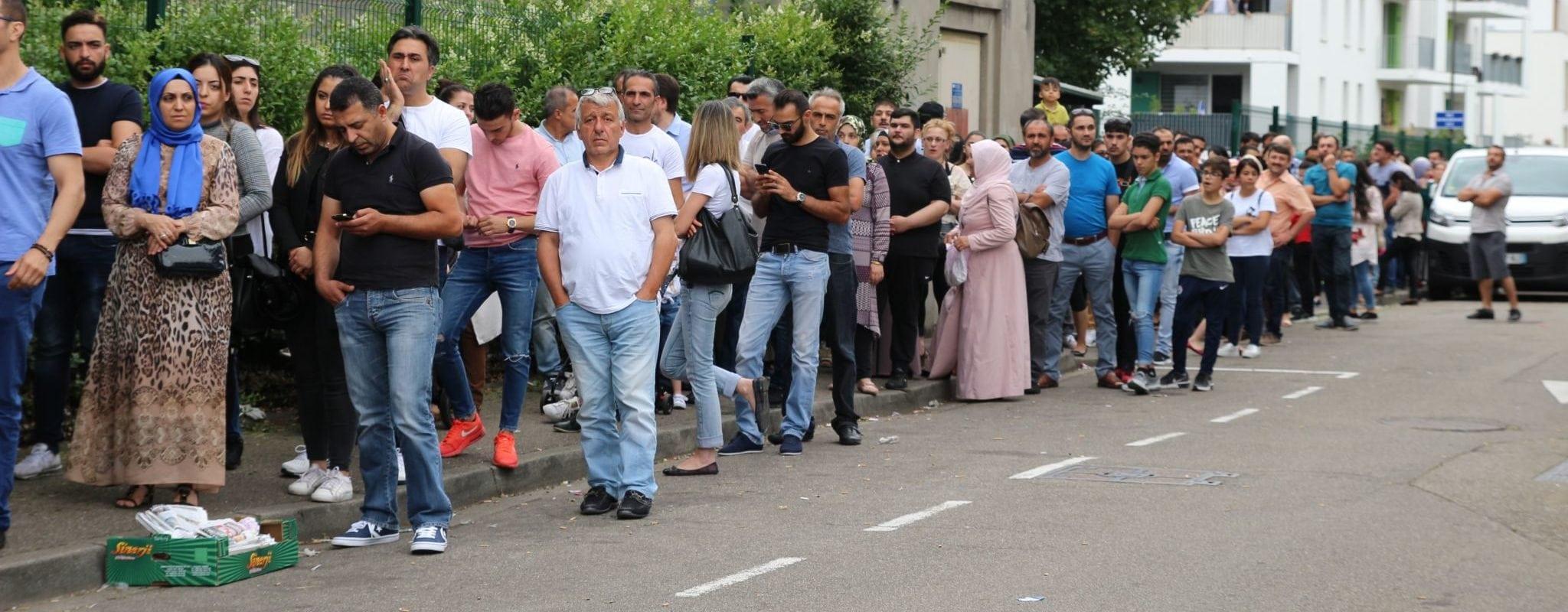 Élections turques: à Strasbourg, sept électeurs sur dix votent Erdogan