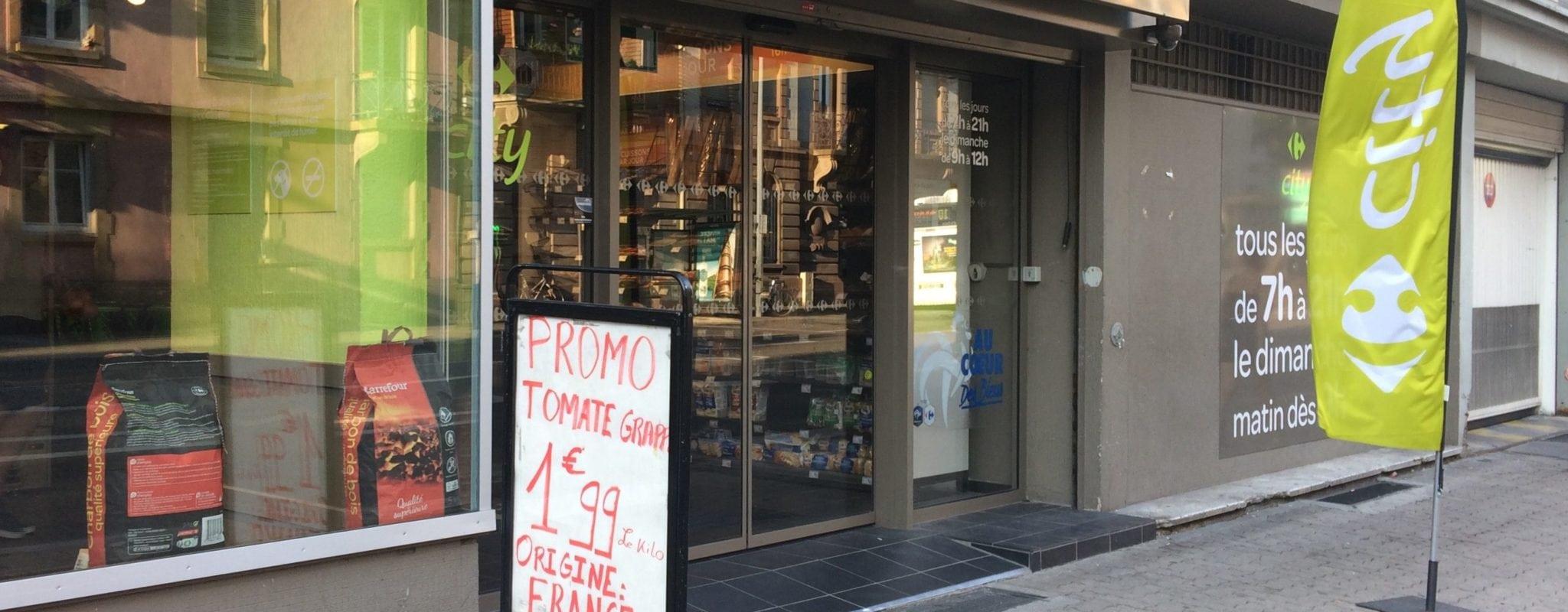 243 magasins Carrefour ferment dans toute la France et un seul en Alsace