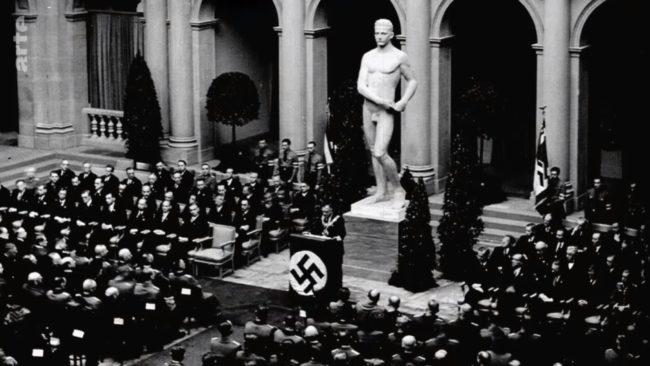 L'université du Reich devait apporter la preuve de la supériorité allemande sur la France (capture d'écran / Arte)