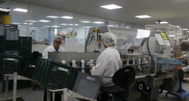 Toute la chaîne de production des produits Biosynex est basée à Illkirch-Graffenstaden (photo JFG / Rue89 Strasbourg)