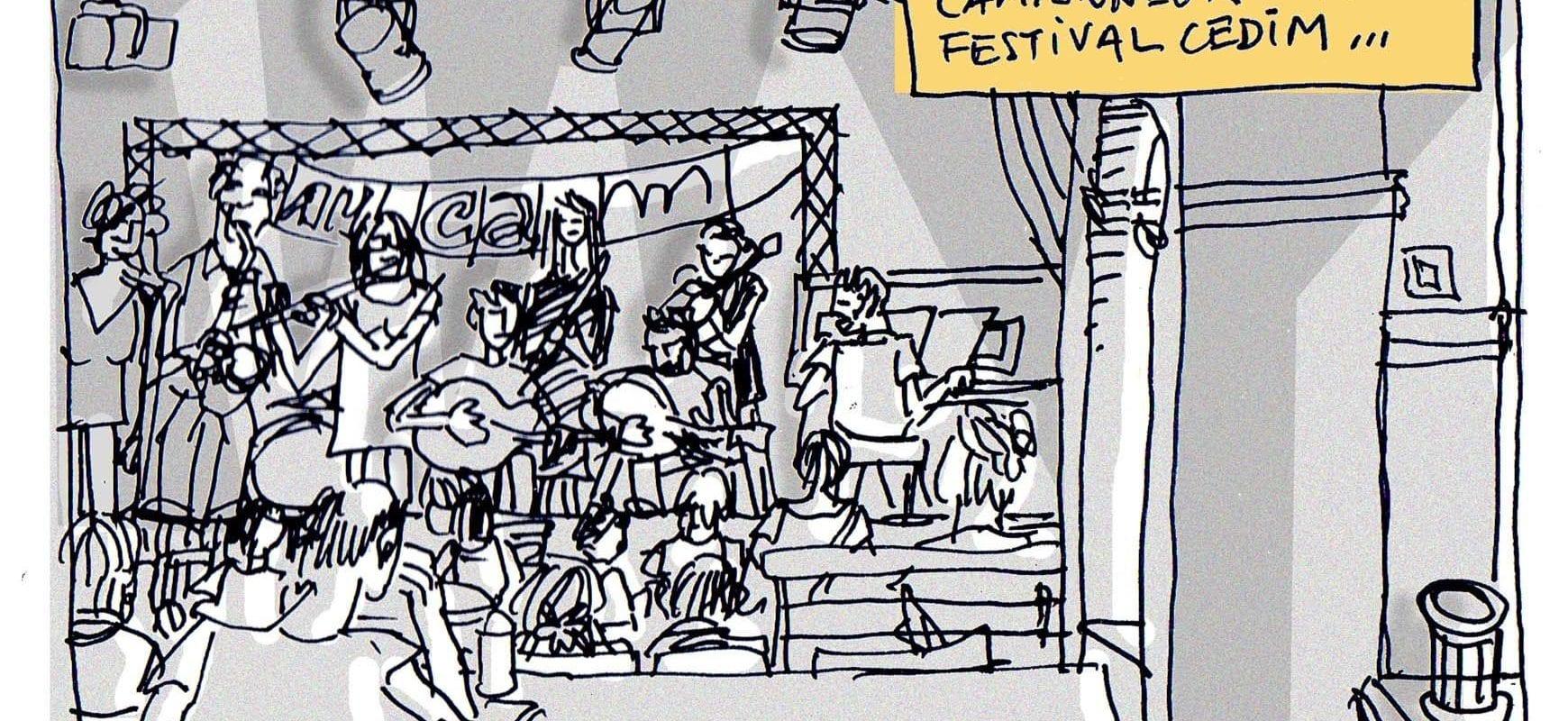 Au festival du Cedim au Camionneur