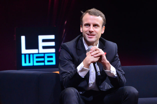 Emmanuel Macron en 2014 (Photo Le Web 14 / FlickR / cc)