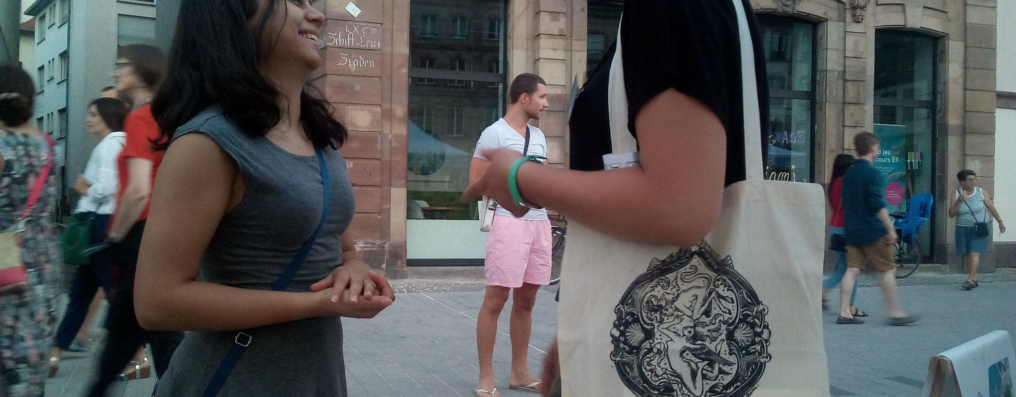 Avec Kilti, une Strasbourgeoise tente de vendre de la culture en paniers