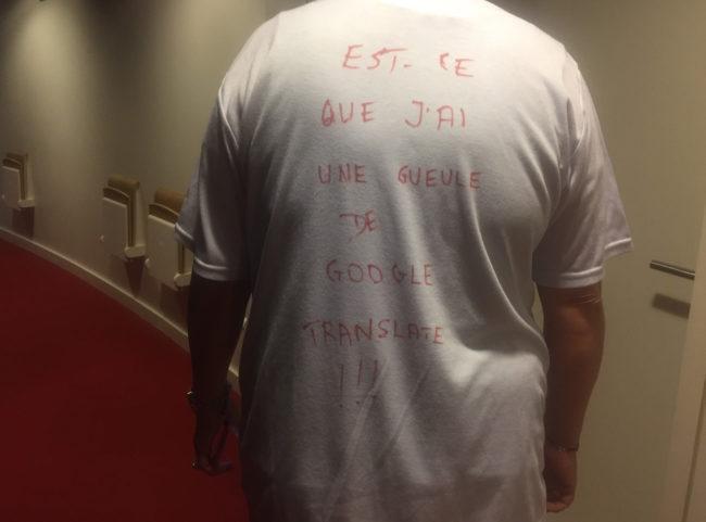 Les interprètes considèrent que les réquisitions, auxquelles l'administration du Parlement a procédé ces dernières semaines, font à l'encontre de leur droit de grève. (Photo CS / Rue89 Strasbourg / cc)