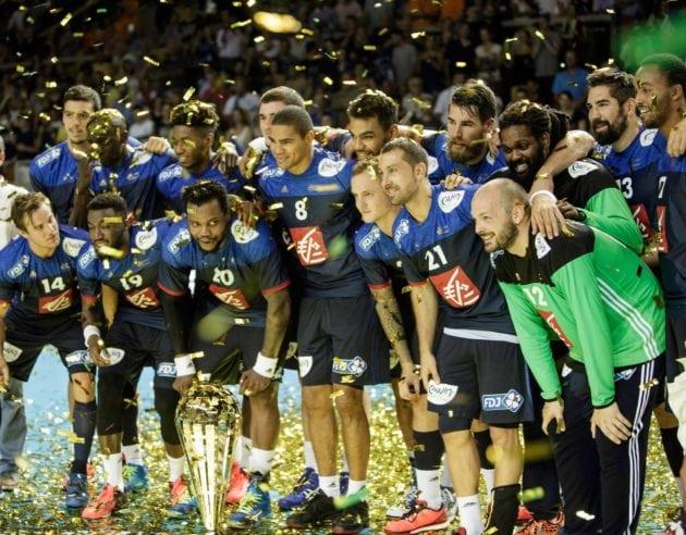 En 2016, l'équipe de France remporte l'EuroTournoi. Depuis l'an 2000, elle vient tous les 4 ans à Strasbourg se frotter aux plus grosses équipes du monde lors d'un tournoi pré-olympique (Photo EuroTournoi)