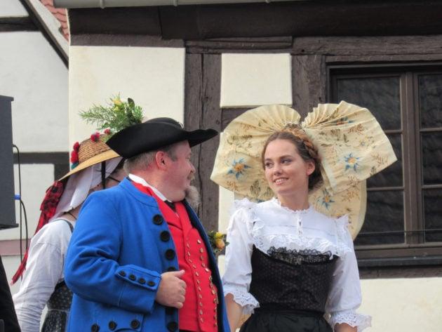 L'Ami Fritz est tombé amoureux instantanément de la belle Suzel. Et l'inverse aussi ! (Photo Judith Barbe / Rue89 Strasbourg / cc)