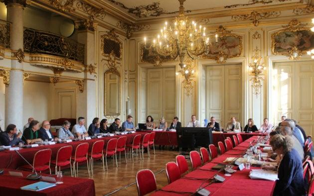 La réunion du Coderst s'est tenue à la préfecture dans la matinée du 28 août (photo JFG / Rue89 Strasbourg)