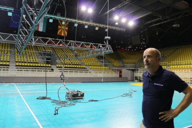 Le directeur du tournoi, Christophe Celeny, est confiant dans l'avenir de l'ET, qui est entre les mains d'une grosse centaine de bénévoles (Photo DL/Rue 89 Strasbourg/cc)