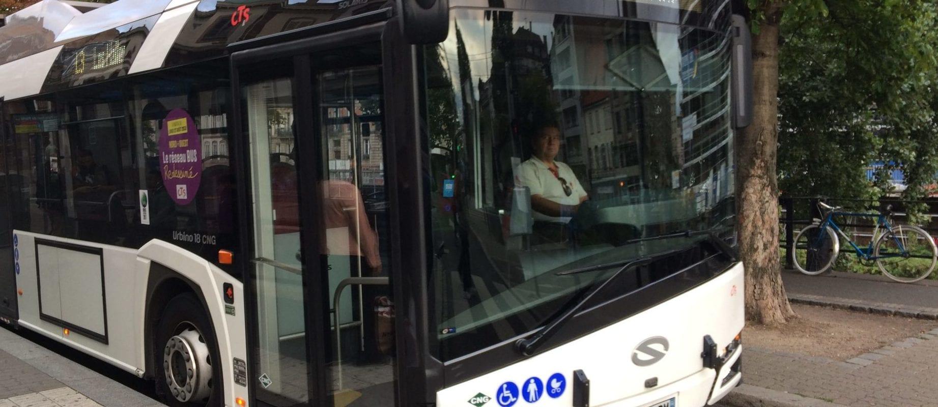 Pour la rentrée 2018, les bus de la CTS tentent de ne pas perdre le nord
