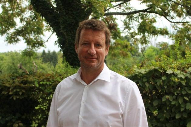 L'écologiste Yannick Jadot, est le premier candidat français à faire activement campagne pour les élections européennes de 2019 (photo JFG / Rue89 Strasbourg)