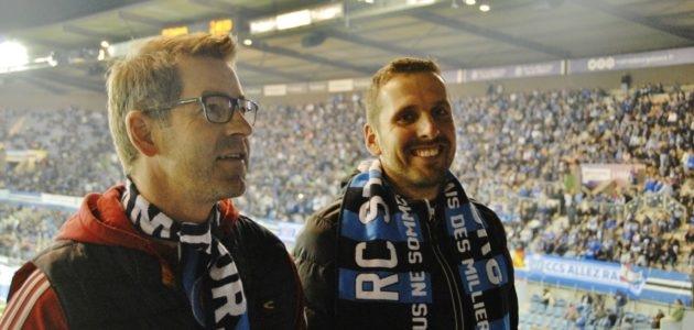 Ces Allemands supporters du Racing Club de Strasbourg