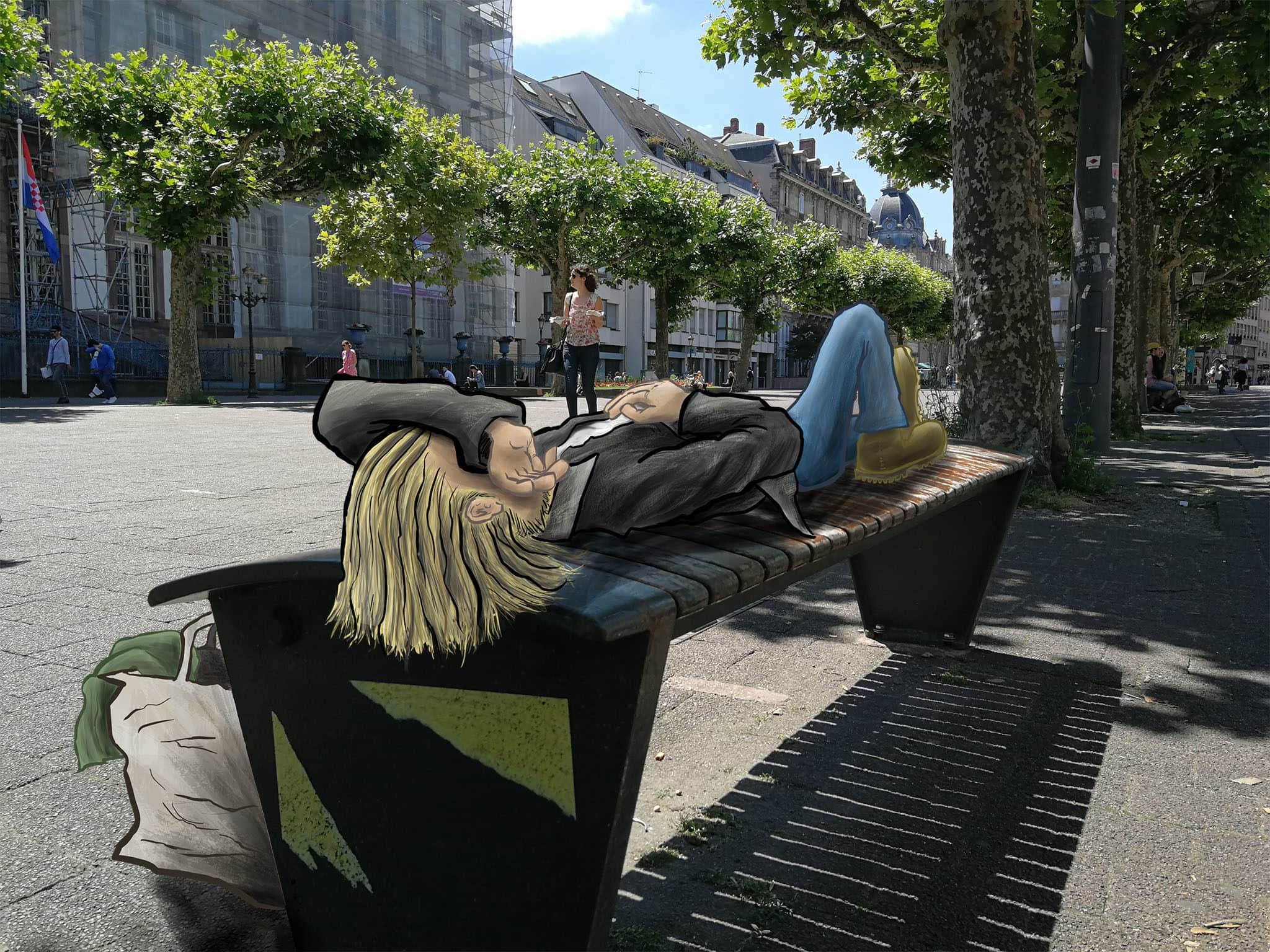 Galets Grilles Bancs Anti Sieste La Carte Du Mobilier Répulsif