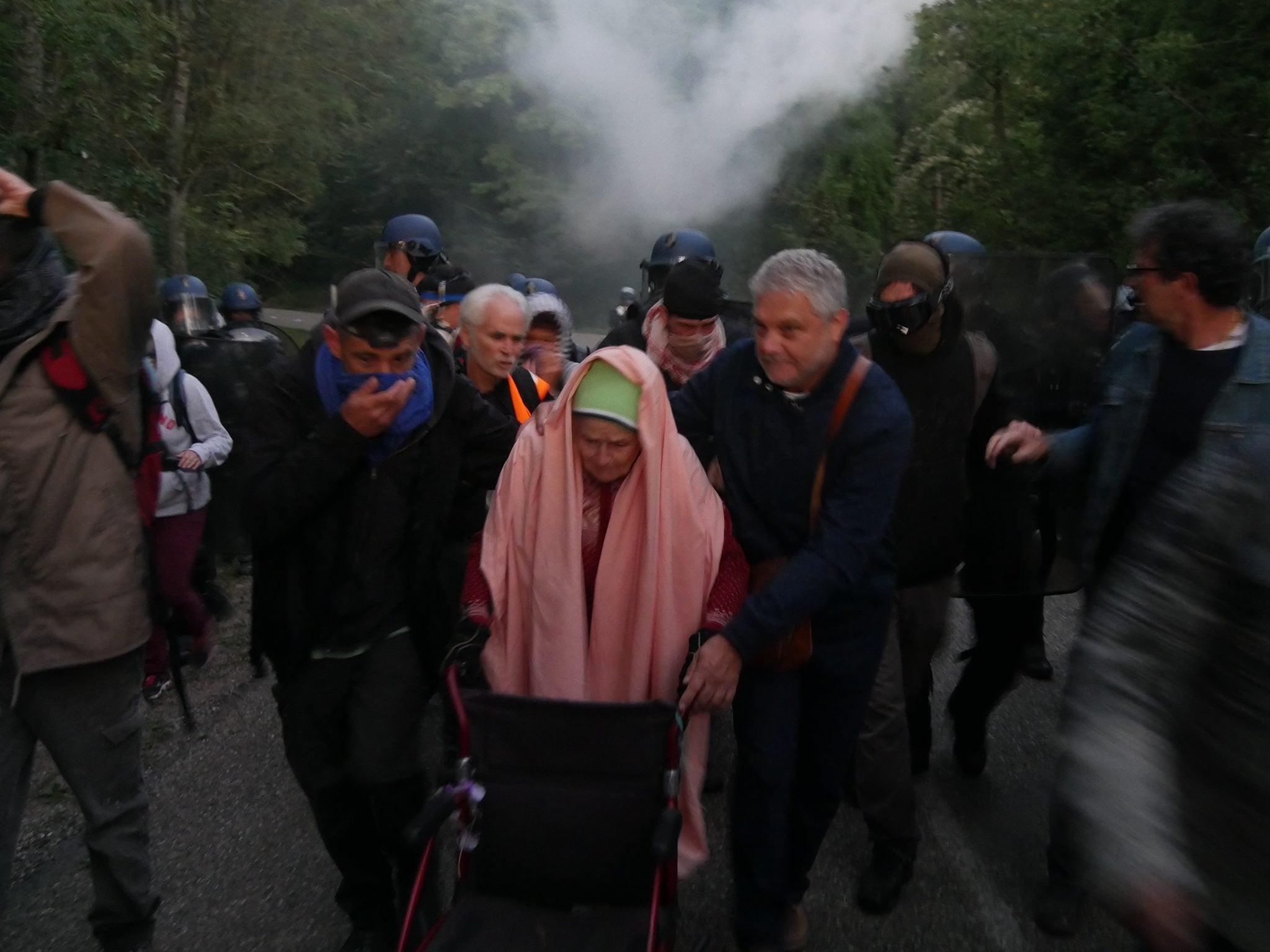 Une personne âgée de 89 ans a participé à la manifestation (Photo GK / Rue89 Strasbourg / cc)