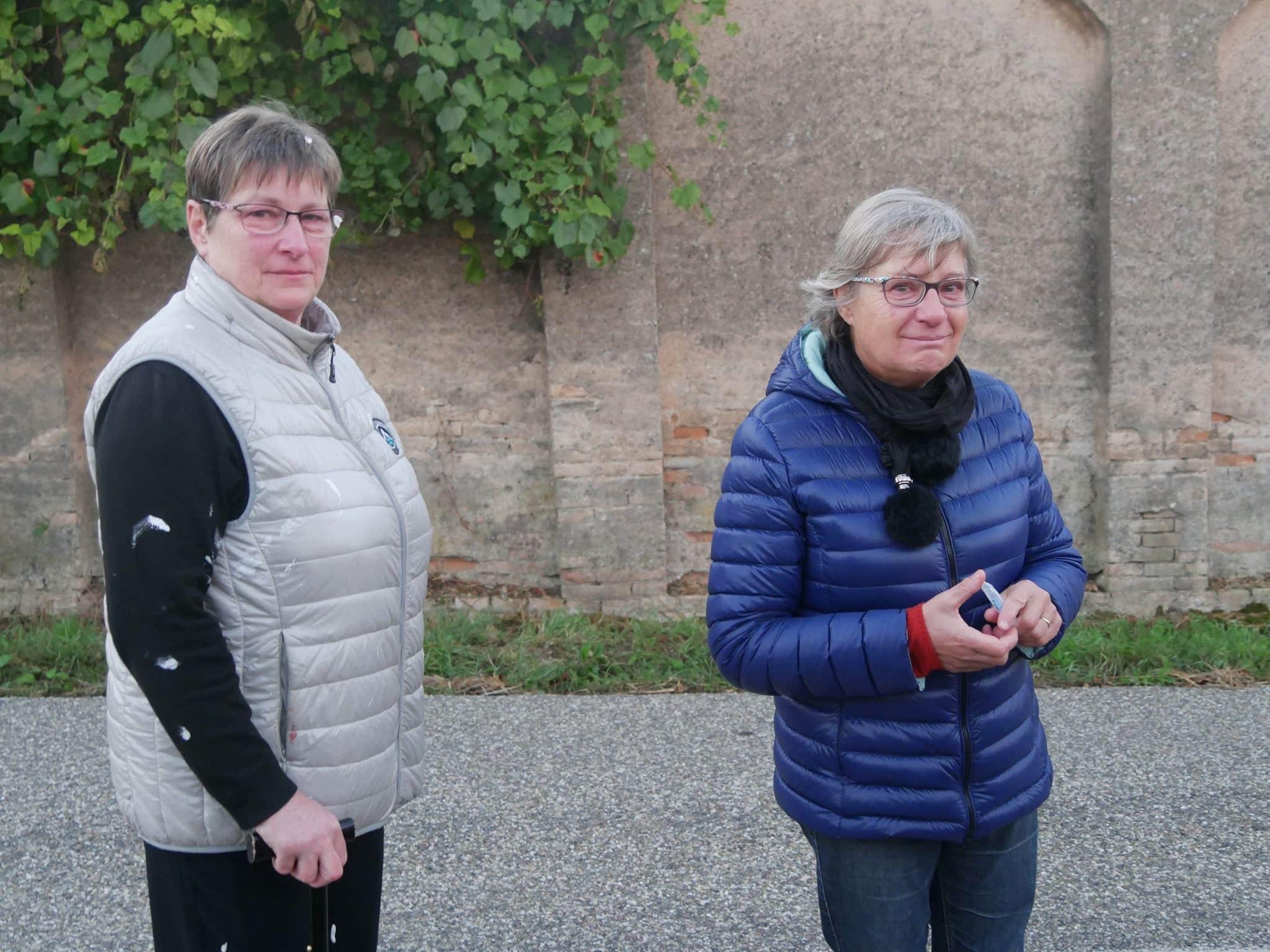 Les habitants et manifestants ont été repoussés jusque dans le village (Photo GK / Rue89 Strasbourg / cc)