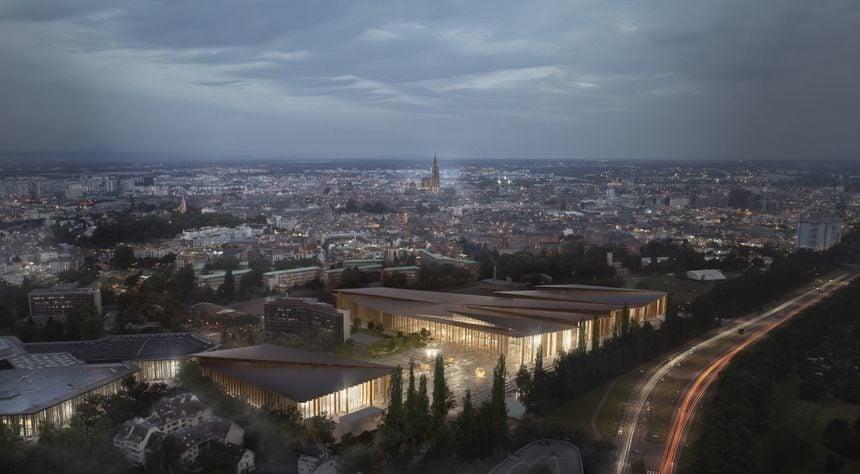 La deuxième version du futur Parc des expositions sera en bois