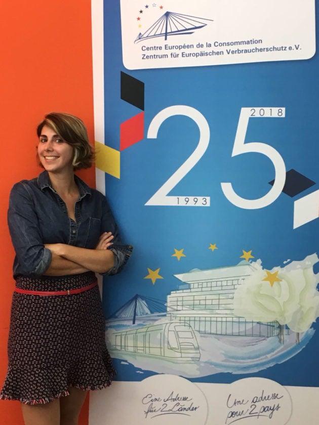 Sarah Abitbol est juriste au CEC depuis bientôt deux ans. (Photo CEC / DR)