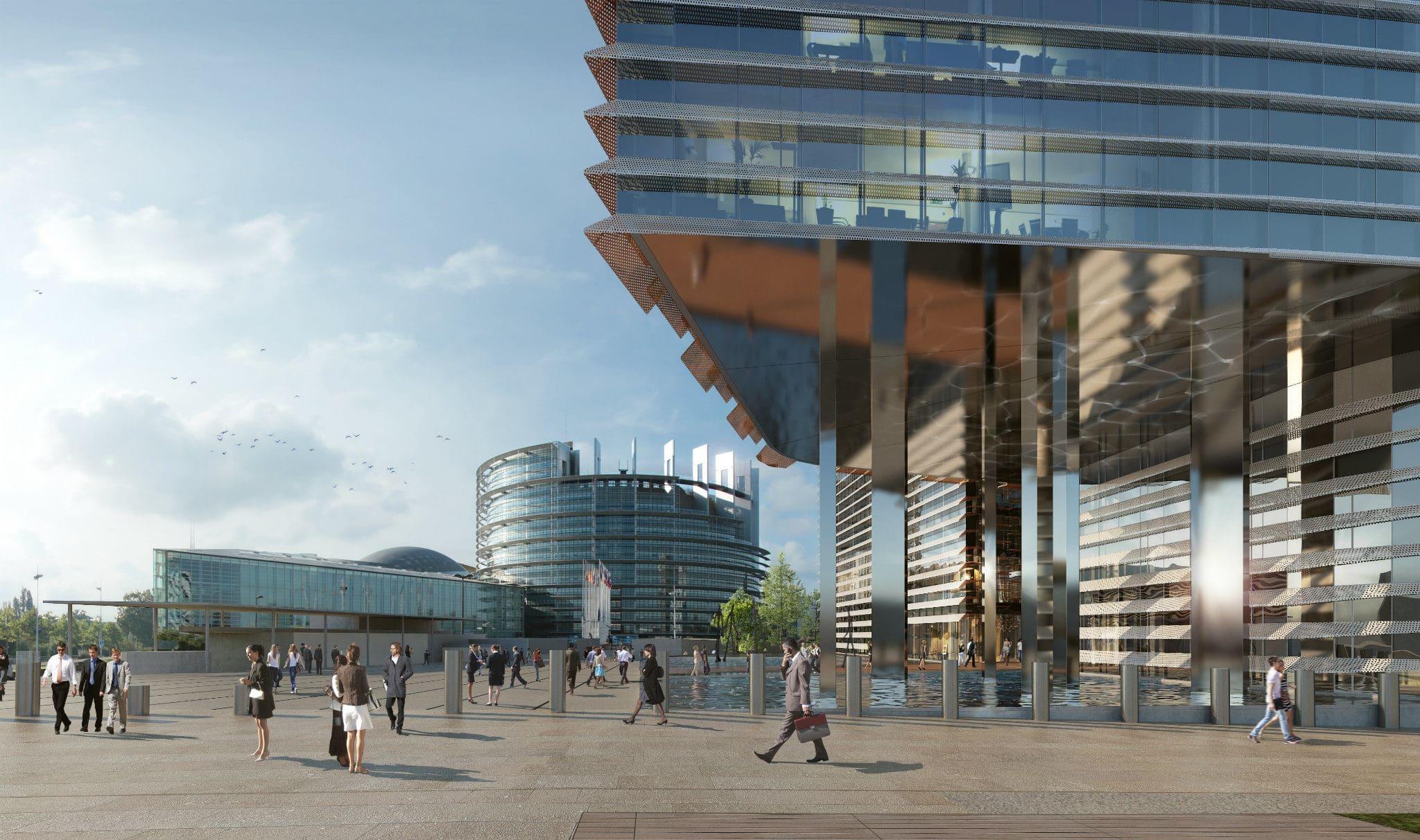 Strasbourg des bureaux prendre ou laisser par le - Bureau de change a strasbourg ...