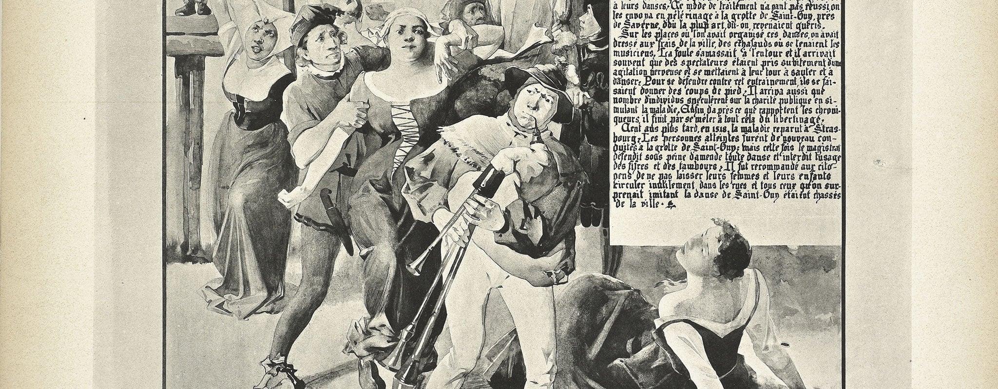 Strasbourg célèbre et se penche sur l'étrange épidémie de danse de 1518