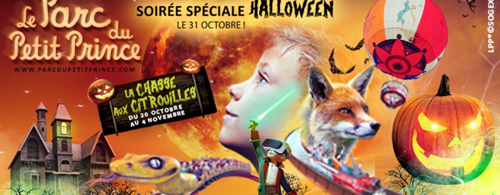 Gagnez des pass famille pour Halloween au Parc du Petit Prince